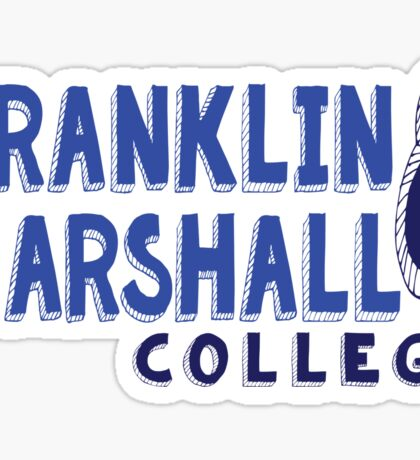 Franklin & Marshall College Sticker