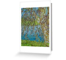 Willow By Water Greeting Card