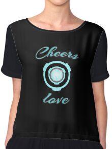 Cheers love! Chiffon Top