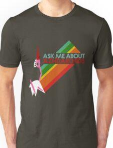 Ask Me About Azhdarchids (dark version) Unisex T-Shirt