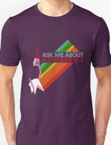 Ask Me About Azhdarchids (dark version) T-Shirt