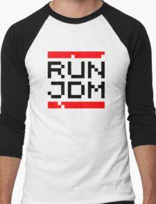 RUN JDM (1) Men's Baseball ¾ T-Shirt