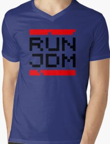 RUN JDM (1) Mens V-Neck T-Shirt