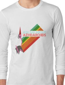 Ask Me About Azhdarchids (light version) Long Sleeve T-Shirt