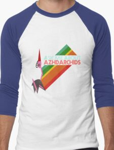 Ask Me About Azhdarchids (light version) Men's Baseball ¾ T-Shirt