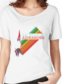 Ask Me About Azhdarchids (light version) Women's Relaxed Fit T-Shirt