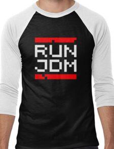 RUN JDM (2) Men's Baseball ¾ T-Shirt