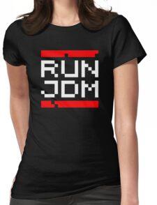 RUN JDM (2) Womens Fitted T-Shirt