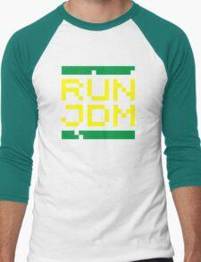 RUN JDM (3) Men's Baseball ¾ T-Shirt
