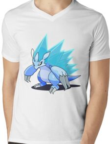 Alola Sandslash Mens V-Neck T-Shirt