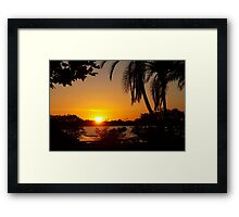 In its berth Framed Print