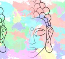 Buddha Pastel watercolour splatter Sticker