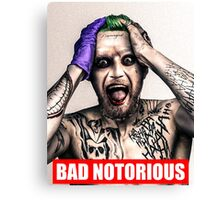 bad notorious Canvas Print