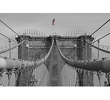 Brooklin bridge Photographic Print
