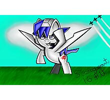 Arwing Pony Photographic Print