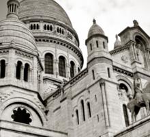 Sacre Coeur, Montmartre Sticker