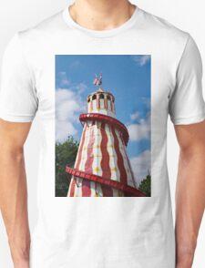 Helter skelter fairground ride Unisex T-Shirt