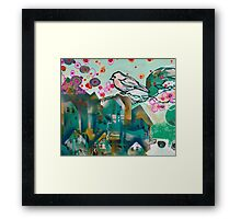city bird II Framed Print