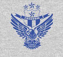 Freedom Crest -Blue Unisex T-Shirt