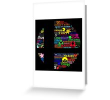 All Things Smash Greeting Card