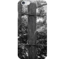 Barbed Wire On The Top iPhone Case/Skin
