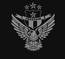 Freedom Crest -Grey Unisex T-Shirt