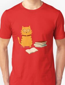 Nerdy Cat Unisex T-Shirt