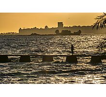 River Plater River Montevideo Uruguay Photographic Print