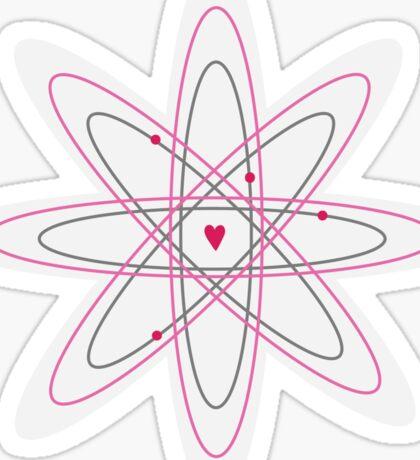 Atoms for love. Sticker