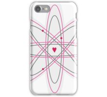 Atoms for love. iPhone Case/Skin
