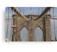 Brooklin bridge Canvas Print