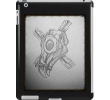 Breakfast skull 1 iPad Case/Skin