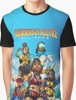 Caribbean Justice Prints Graphic T-Shirt