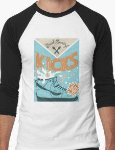 K/CKS Men's Baseball ¾ T-Shirt