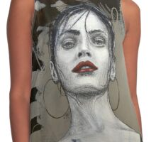 Flamenco Dancer Contrast Tank