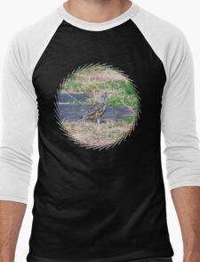 summer Visit Men's Baseball ¾ T-Shirt