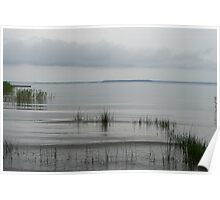 Soft and Silent Grays - the Beautiful Calmness of Overcast Days Poster