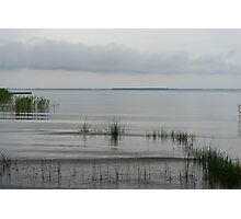 Soft and Silent Grays - the Beautiful Calmness of Overcast Days Photographic Print