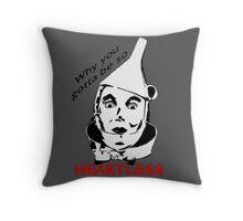 Heartless Tinman Throw Pillow