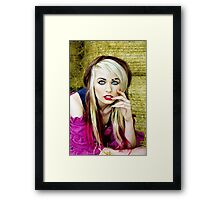 Bright eyed and beautiful Framed Print