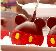 Mickey Candy Apple by mickeywaffles