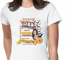 From Dusk Till Dawn - White Aztec Flyer Womens Fitted T-Shirt