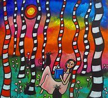 Three Black Cats by Juli Cady Ryan
