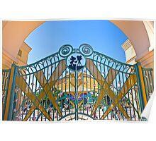 Walt Disney Studio Gates (Mickey Mouse) Poster