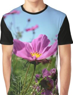 Cosmos in the Dream Garden Graphic T-Shirt