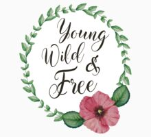 Young, Wild, Free One Piece - Short Sleeve