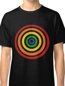Rainbow Target Design Classic T-Shirt