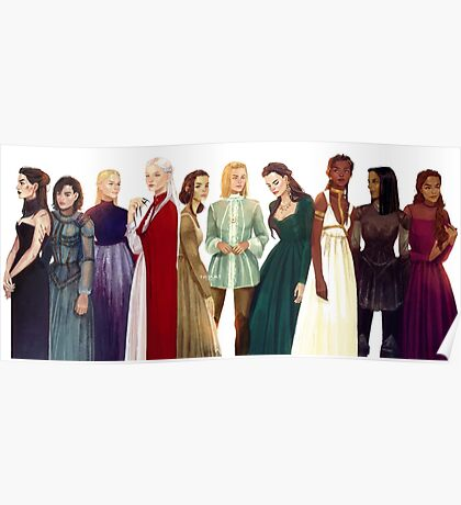Women from Throne of Glass Poster