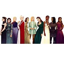 Women from Throne of Glass Photographic Print