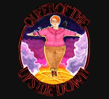 Barb Queen of The Upside Down Stranger Things Black Outline Unisex T-Shirt